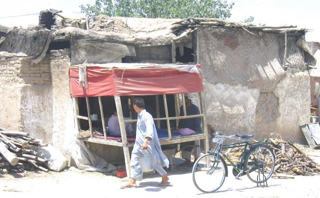 Informal shop in Mazar-i-Sharif