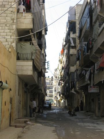 More informal settlement in Aleppo (Syria) - photo 2